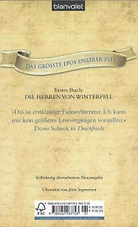 Das Lied von Eis und Feuer Band 1: Die Herren von Winterfell - Produktdetailbild 1