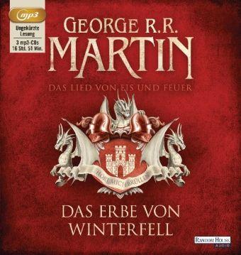 Das Lied von Eis und Feuer Band 2: Das Erbe von Winterfell (3 MP3-CDs), George R. R. Martin