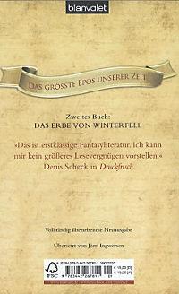 Das Lied von Eis und Feuer Band 2: Das Erbe von Winterfell - Produktdetailbild 1