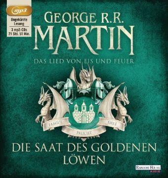 Das Lied von Eis und Feuer Band 4: Die Saat des goldenen Löwen (MP3-CD), George R. R. Martin