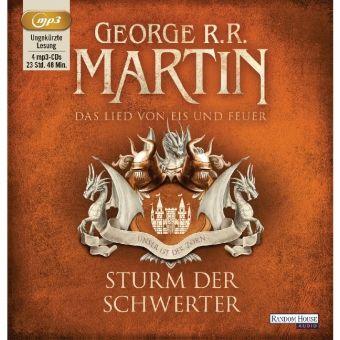 Das Lied von Eis und Feuer Band 5: Sturm der Schwerter (4 MP3-CDs), George R. R. Martin