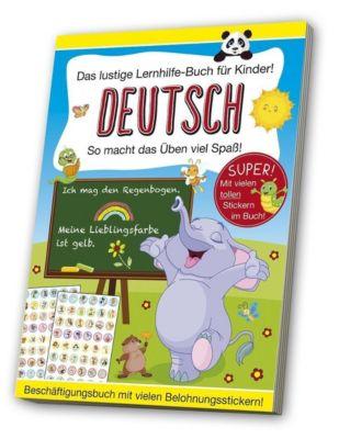 Das lustige Lernhilfe-Buch für Kinder - Deutsch