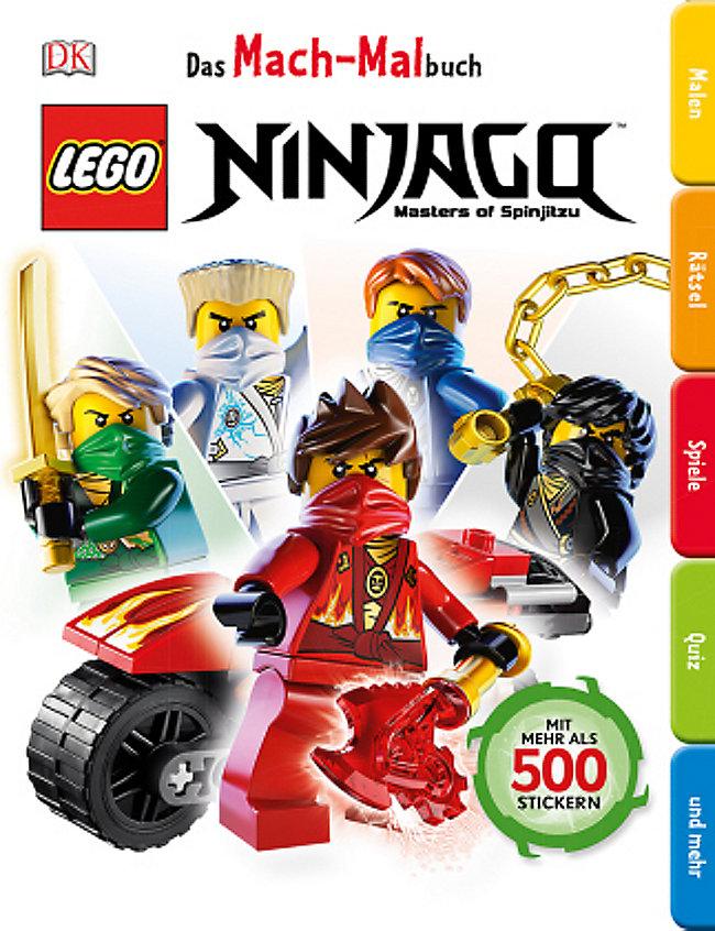 Das Mach Malbuch Lego Ninjago Buch Bei Weltbild De Bestellen