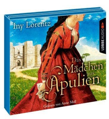 Das Mädchen aus Apulien, 6 Audio-CDs, Iny Lorentz