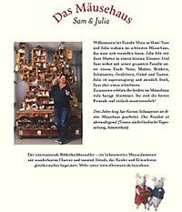Das Mäusehaus Band 1: Sam & Julia - Produktdetailbild 1