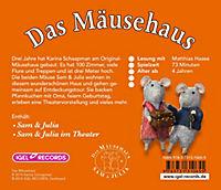 Das Mäusehaus, Sam & Julia, 1 Audio-CD - Produktdetailbild 1