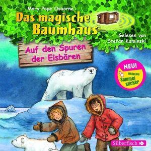 Das magische Baumhaus - Auf den Spuren der Eisbären, 1 Audio-CD, Mary Pope Osborne