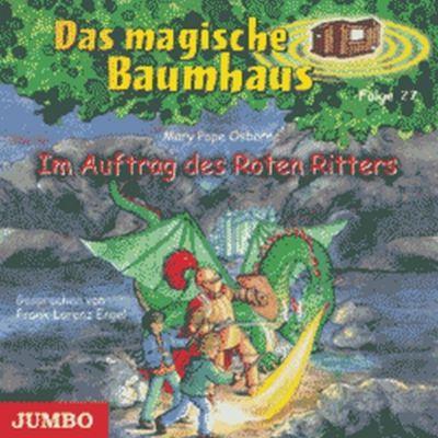 Das magische Baumhaus Band 27: Im Auftrag des Roten Ritters (1 Audio-CD), Mary Pope Osborne
