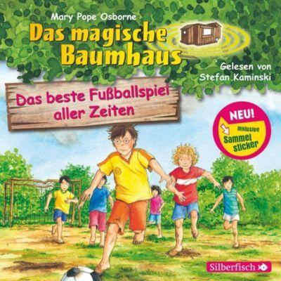 Das magische Baumhaus Band 50: Das beste Fußballspiel aller Zeiten (Audio-CD), Mary Pope Osborne