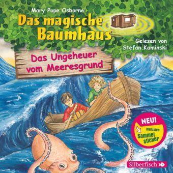 Das magische Baumhaus - Das Ungeheuer vom Meeresgrund, 1 Audio-CD, Mary Pope Osborne