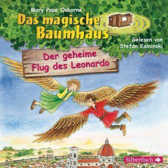 Das magische Baumhaus - Der geheime Flug des Leonardo, 1 Audio-CD, Mary Pope Osborne