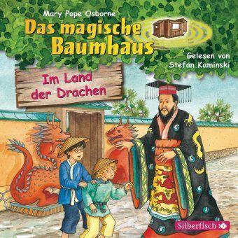 Das magische Baumhaus - Im Land der Drachen, 1 Audio-CD, Mary Pope Osborne