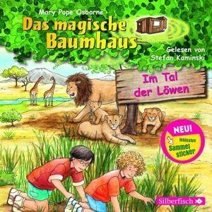 Das magische Baumhaus - Im Tal der Löwen, 1 Audio-CD, Mary Pope Osborne