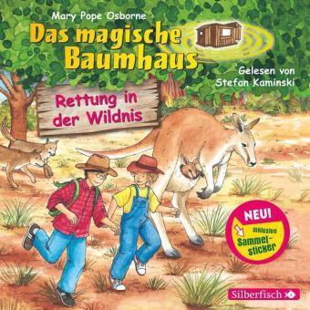 Das magische Baumhaus - Rettung in der Wildnis, 1 Audio-CD, Mary Pope Osborne