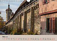 Das mittelalterliche Rothenburg (Wandkalender 2019 DIN A4 quer) - Produktdetailbild 2