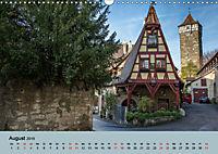 Das mittelalterliche Rothenburg (Wandkalender 2019 DIN A3 quer) - Produktdetailbild 8