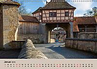 Das mittelalterliche Rothenburg (Wandkalender 2019 DIN A3 quer) - Produktdetailbild 1