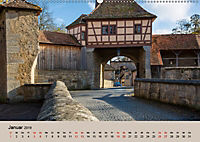 Das mittelalterliche Rothenburg (Wandkalender 2019 DIN A2 quer) - Produktdetailbild 1