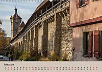 Das mittelalterliche Rothenburg (Wandkalender 2019 DIN A2 quer) - Produktdetailbild 3