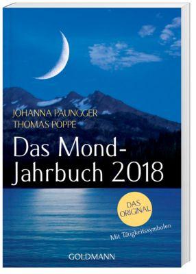 Das Mond-Jahrbuch 2018, Johanna Paungger, Thomas Poppe