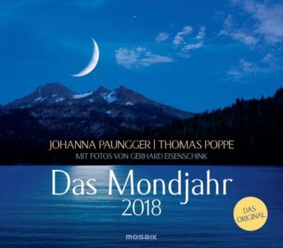 Das Mondjahr, Wandkalender 2018, Johanna Paungger, Thomas Poppe