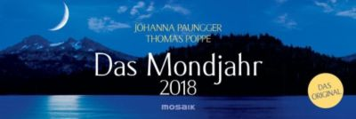 Das Mondjahr, Wochenkalender 2018, Johanna Paungger, Thomas Poppe