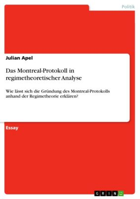 Das Montreal-Protokoll in regimetheoretischer Analyse, Julian Apel