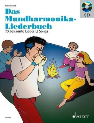 Das Mundharmonika-Liederbuch, m. Audio-CD, Perry Letsch