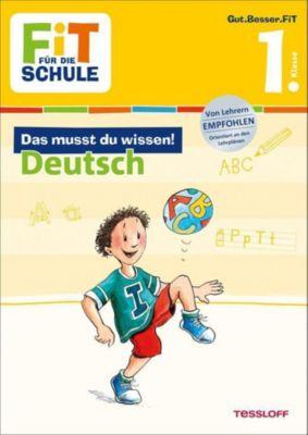 Das musst du wissen! Deutsch 1. Klasse - Sonja Reichert |