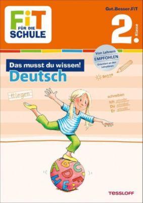 Das musst du wissen! Deutsch 2. Klasse - Sonja Reichert pdf epub