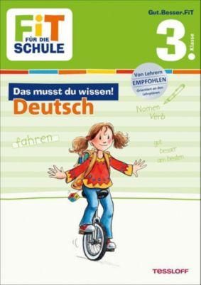 Das musst du wissen! Deutsch 3. Klasse - Sonja Reichert |