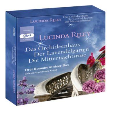 Das Orchideenhaus, Der Lavendelgarten, Die Mitternachtsrose 4 MP3 CDs, Lucinda Riley