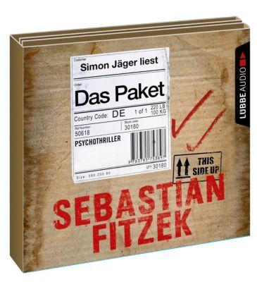 Das Paket, 6 Audio-CDs, Sebastian Fitzek