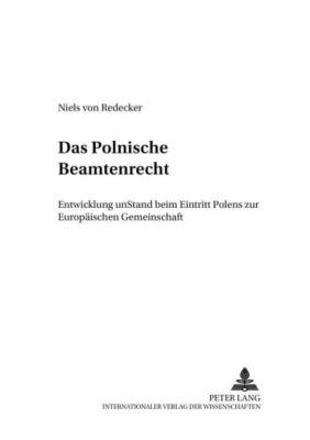 Das polnische Beamtenrecht, Niels von Redecker