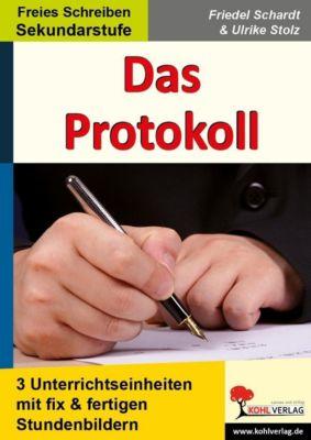 Das Protokoll, Ulrike Stolz, Friedel Schardt