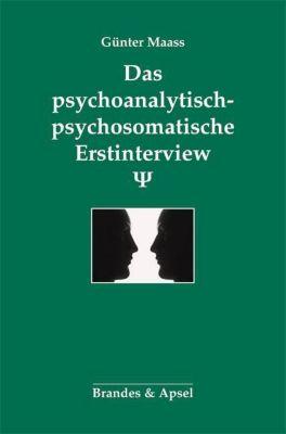 Das psychoanalytisch-psychosomatische Erstinterview, Günter Maass