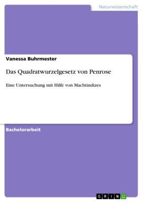 Das Quadratwurzelgesetz von Penrose, Vanessa Buhrmester