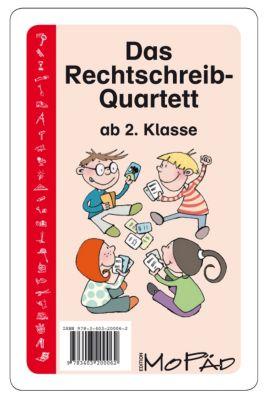 Das Rechtschreib-Quartett (Kartenspiel) - Bernd Wehren |
