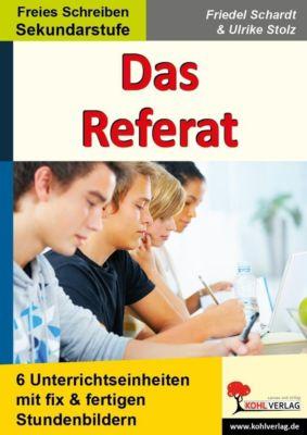 Das Referat, Ulrike Stolz, Friedel Schardt