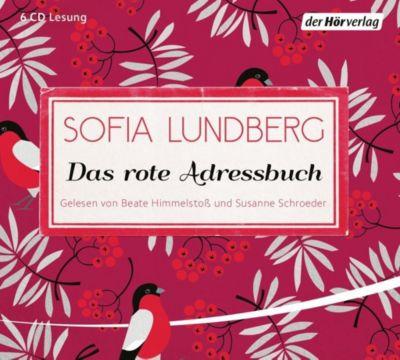 Das rote Adressbuch, 6 Audio-CDs, Sofia Lundberg