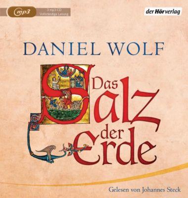 Das Salz der Erde, 4 MP3-CDs, Daniel Wolf
