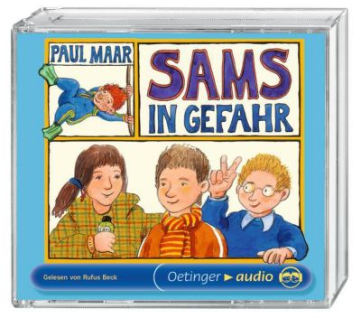Das Sams Band 5: Sams in Gefahr (4 Audio-CDs), Paul Maar