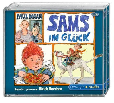 Das Sams Band 7: Sams im Glück (4 Audio-CDs), Paul Maar, Ulrich Limmer