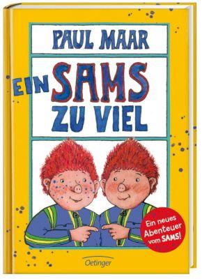 Das Sams Band 8: Ein Sams zu viel, Paul Maar