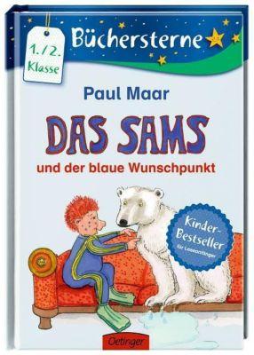 Das Sams Büchersterne Band 2: Das Sams und der blaue Wunschpunkt, Paul Maar