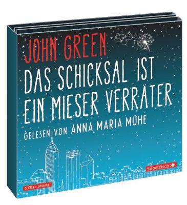 Das Schicksal ist ein mieser Verräter, 5 Audio-CDs, John Green