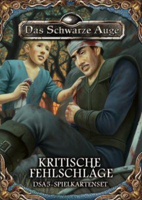 Das Schwarze Auge, DSA5 Spielkartenset Kritische Fehlschläge, Alex Spohr