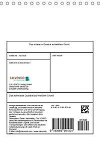 Das schwarze Quadrat auf weissem Grund (Tischkalender 2019 DIN A5 hoch) - Produktdetailbild 13