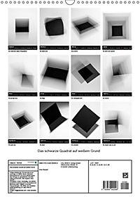 Das schwarze Quadrat auf weißem Grund (Wandkalender 2019 DIN A3 hoch) - Produktdetailbild 13
