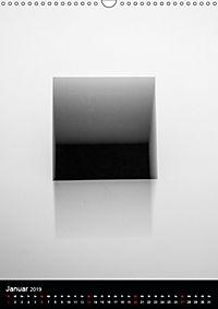 Das schwarze Quadrat auf weißem Grund (Wandkalender 2019 DIN A3 hoch) - Produktdetailbild 1